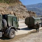 В Дагестане на пути бронированного КамАЗа сработал фугас