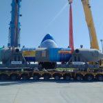 Отходы здесь не нужны, DHL транспортирует 140-тонные котлы-утилизаторы в Саудовскую Аравию